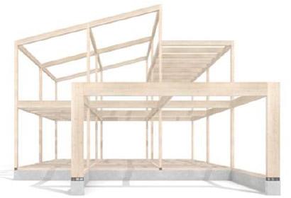 重量木骨の家(SE構法)