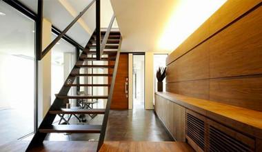 邸別オリジナル内装建具・造作家具