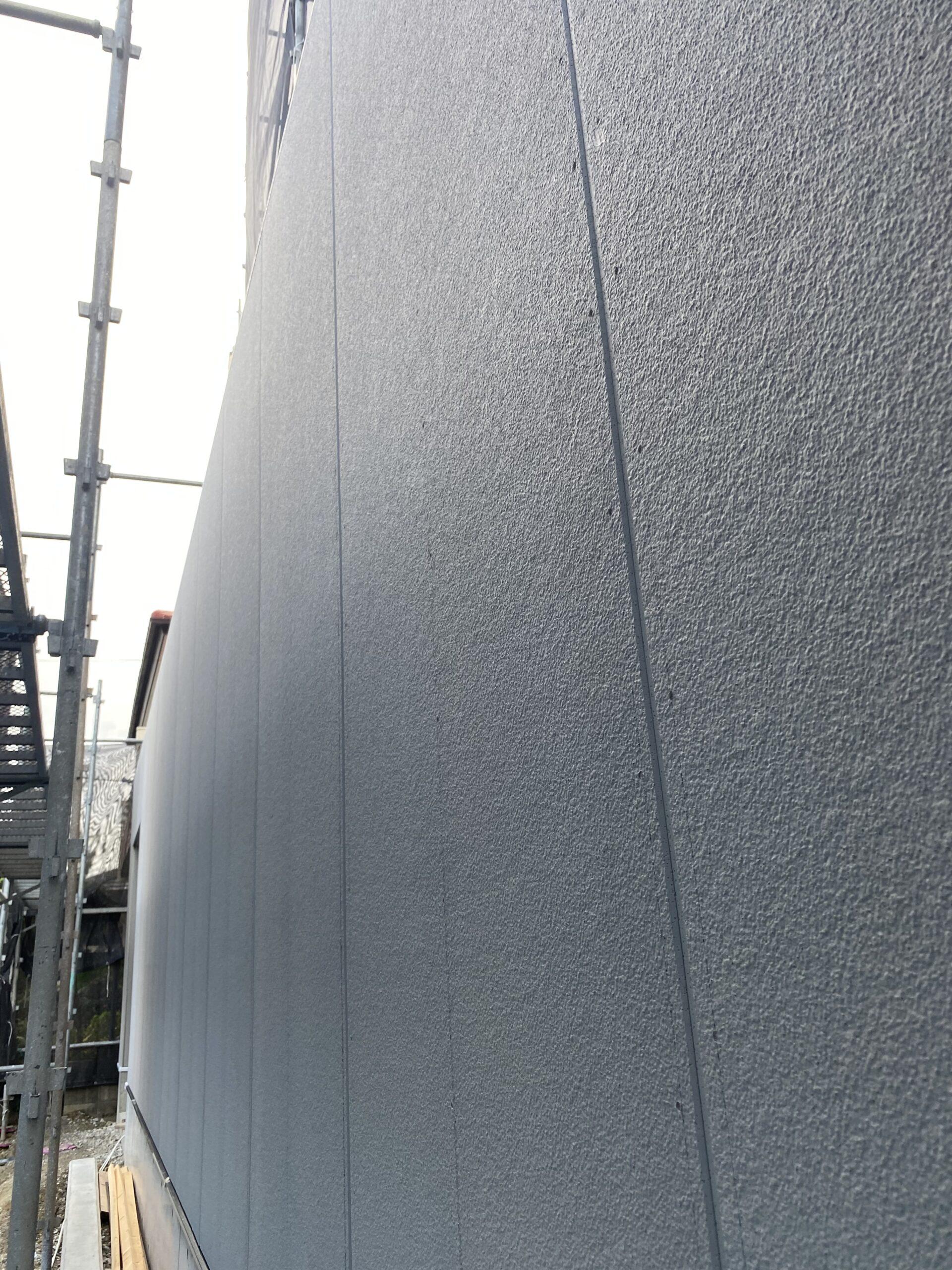 外壁サイディング工事完了