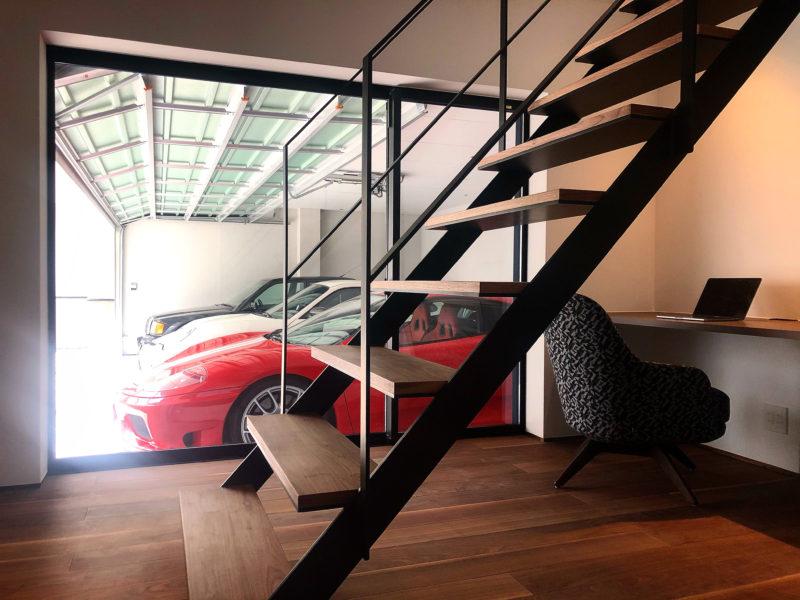 竣工写真の撮影 / 伏見区のガレージハウス