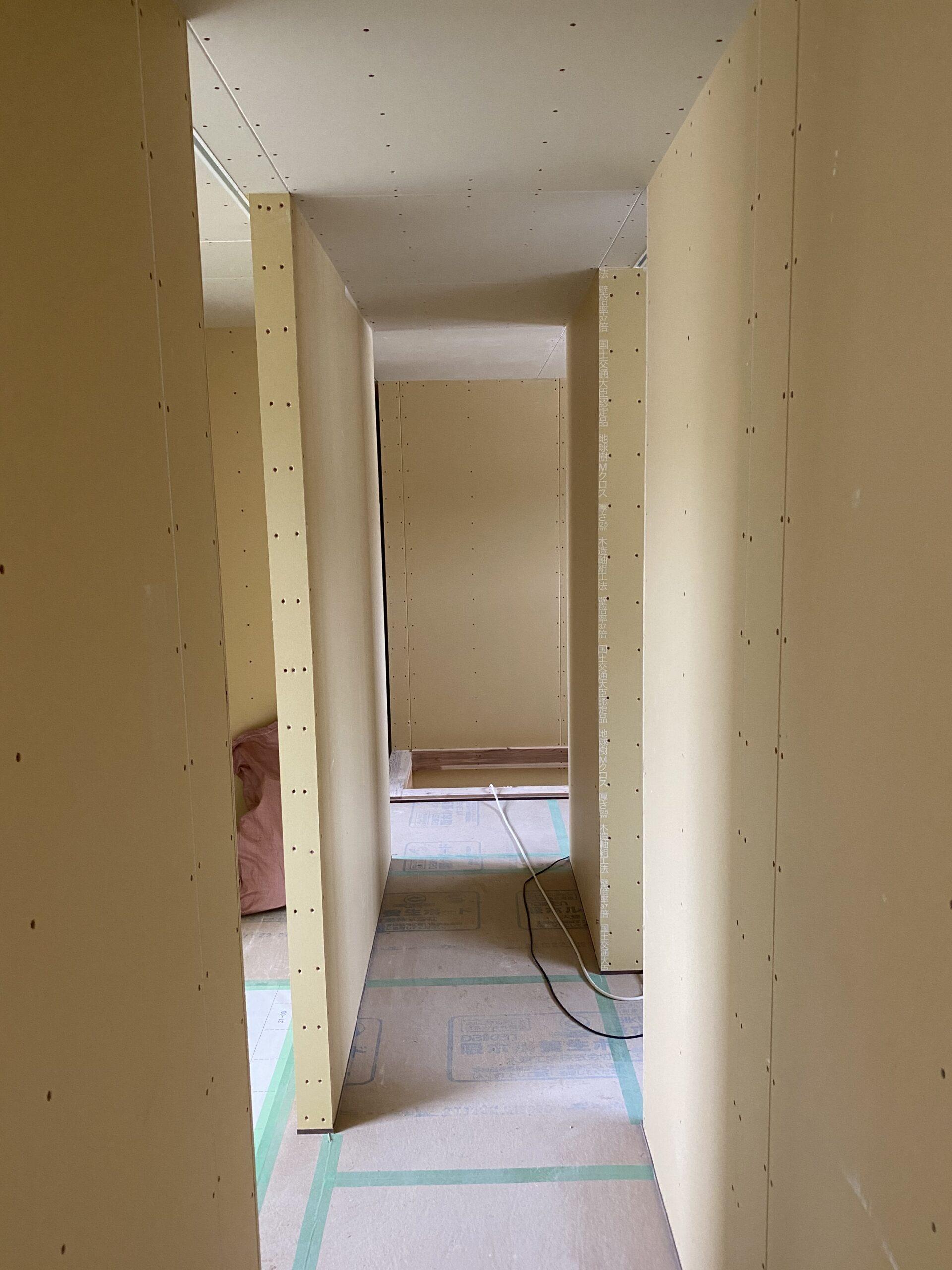 木工事完了&外部塗装開始